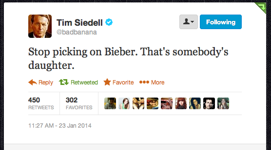 Best Justin Bieber Arrest Tweet EVER