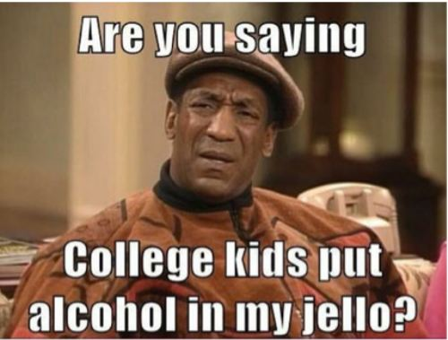 Bill Cosby On JELLO Shots