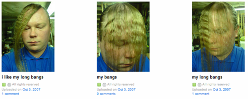 The Worlds Best Bangs