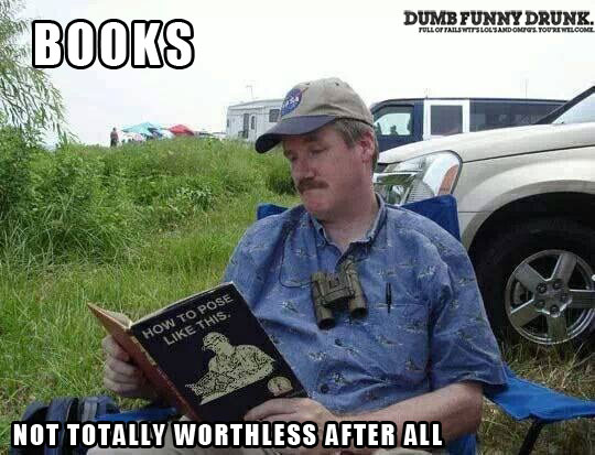 Books… Not Worthless After All
