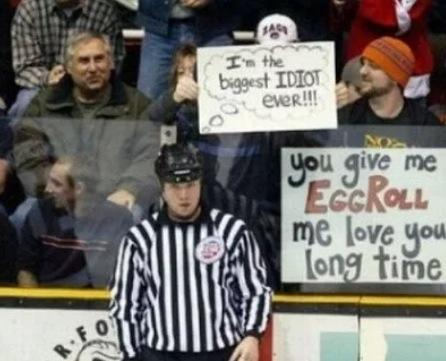 Best Sign By Sports Fan Ever