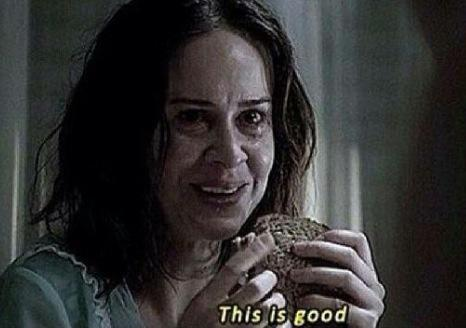 Eating Dinner At A Friends House