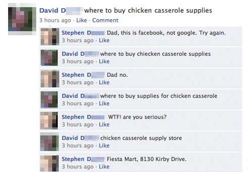 Facebook Is Not Google