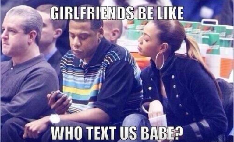 Who Text Us Babe