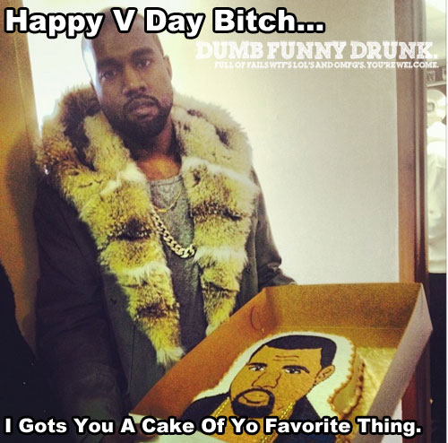 Happy V Day From Kanye
