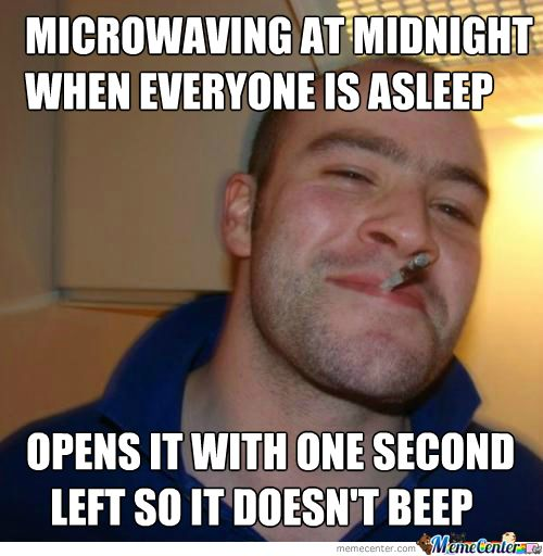 Microwaving At Midnight