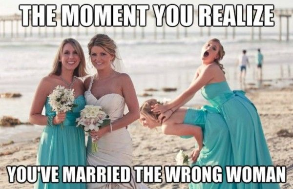 You Married The Wrong Chicks