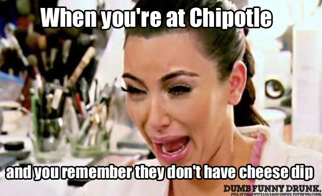 When You're At Chipotle…