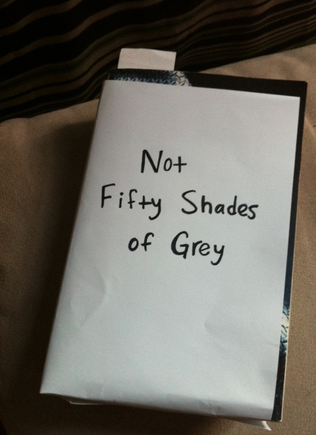 Fifty Shades Of Gray Book Cover