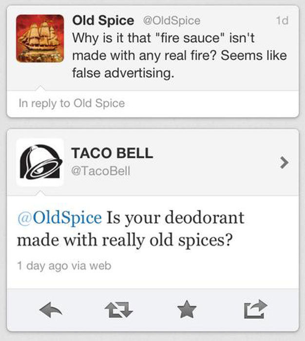 Old Spice Step Up Your Twitter Game