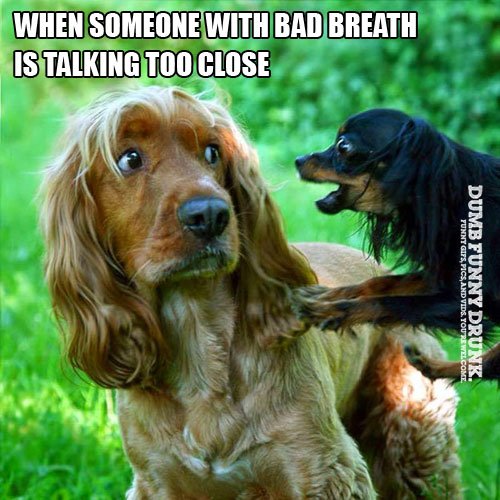 Someone With Bad Breath