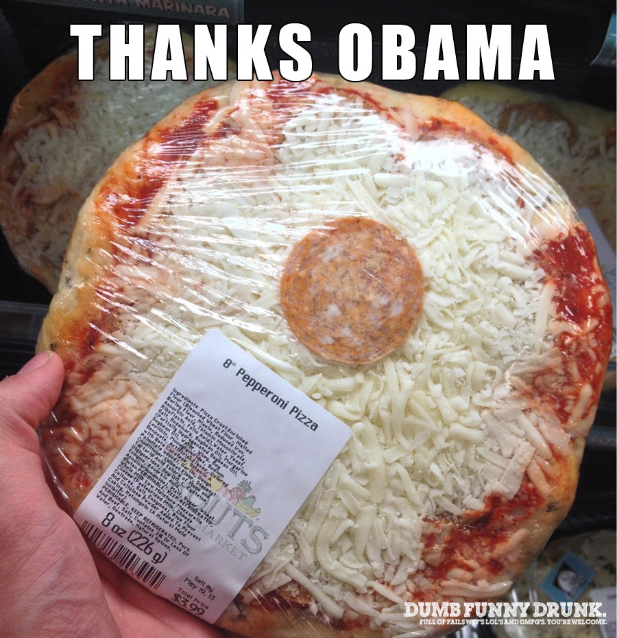 Thanks Obama Pizza