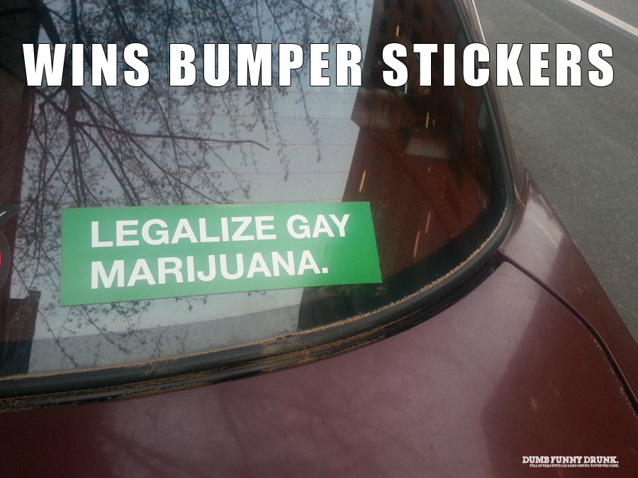 Wins Bumper Stickers