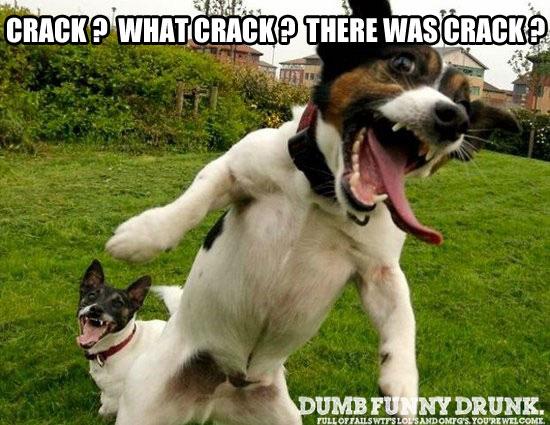 Crack What Crack?