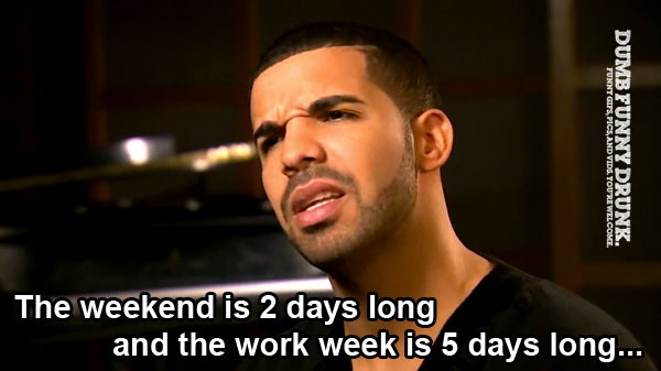 Work Week Vs. Weekend