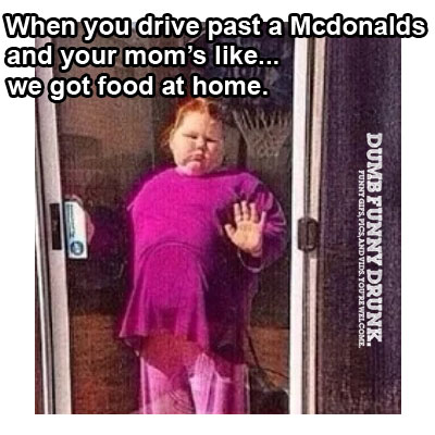 When You Drive Past McDonalds