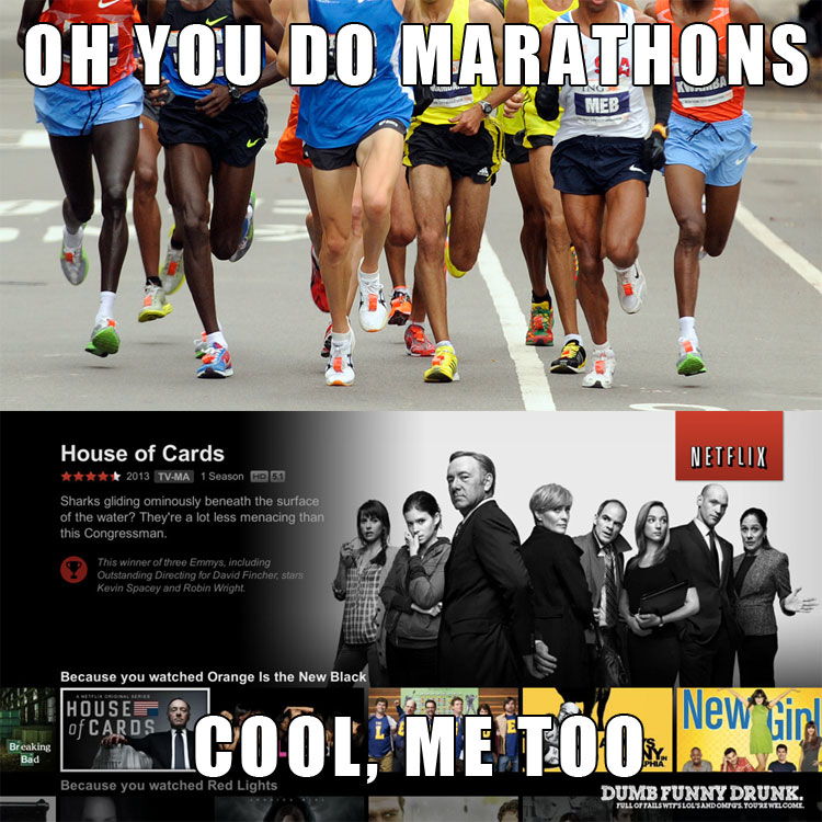Oh You Do Marathons